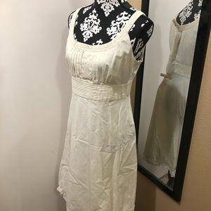 Antonio Melani White Sleeveless Dress